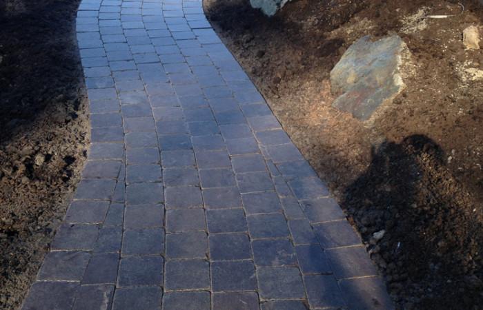stonework path